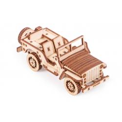 WOOD TRICK Maquette en bois de jeep, woodtrick VOITURES