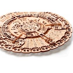 WOOD TRICK Puzzle 3d, calendrier Maya, décoration murale Puzzles 3d en bois