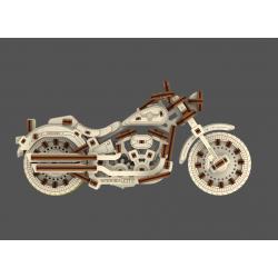 WOODEN.CITY Maquette moto V Twin, cruiser, Wooden City Motos