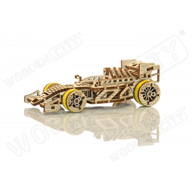 Formule 1 , wooden city, maquette en bois