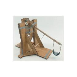 Esprit Maquette Maquette Médiévale de Trébuchet, Maquette en Bois Maquettes en bois