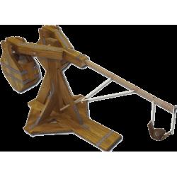 Esprit Maquette Maquette de Catapulte de type Biffa en Bois, fonctionnelle Maquettes en bois