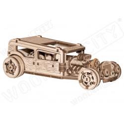 WOODEN.CITY Maquette mécanique de HotRod, en bois Accueil
