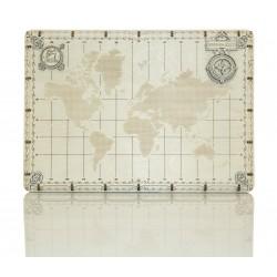 WOODEN.CITY mini carte du monde, en bois, Wooden.City, modèles avec points Décoration
