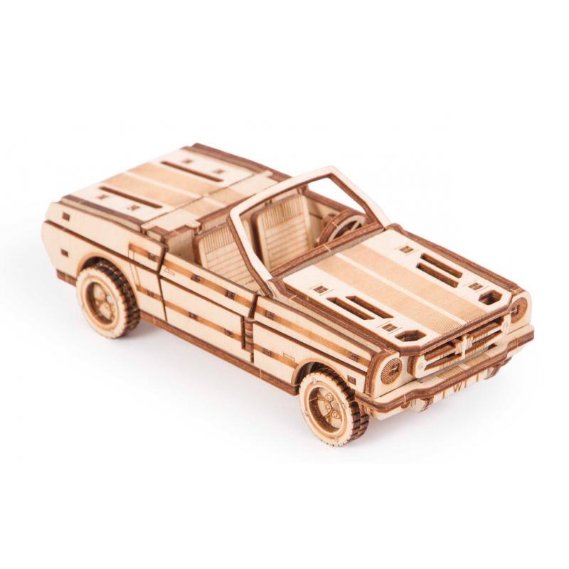 Maquette de cabriolet, en bois, woodtrick