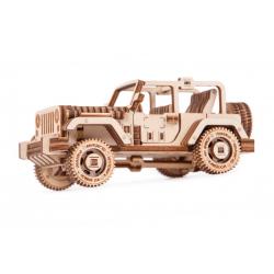 WOOD TRICK maquette de 4X4 safari VOITURES
