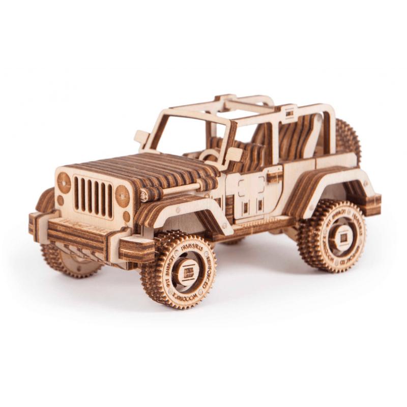 maquette de 4X4 safari