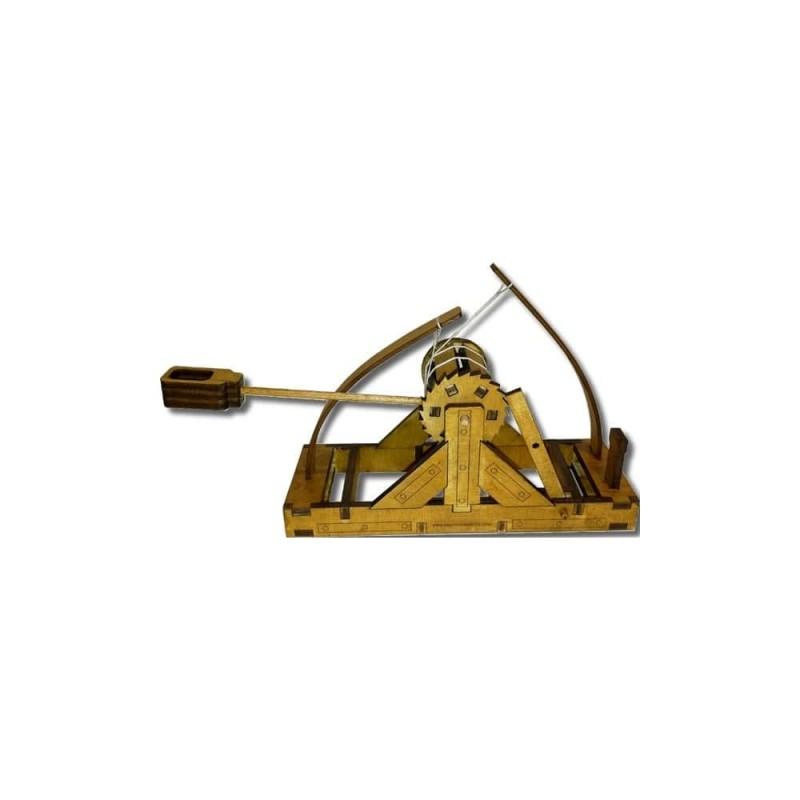 Maquette de catapulte de Léonard de Vinci