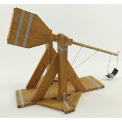 Esprit Maquette Maquette Médiévale, le Mangonneau Maquettes en bois