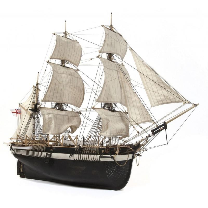 HMS Terror, maquette au 1/75