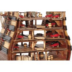 OCCRE Section du navire Santissima Trinidad, Occre, Maquette de bateau Maquettes en bois