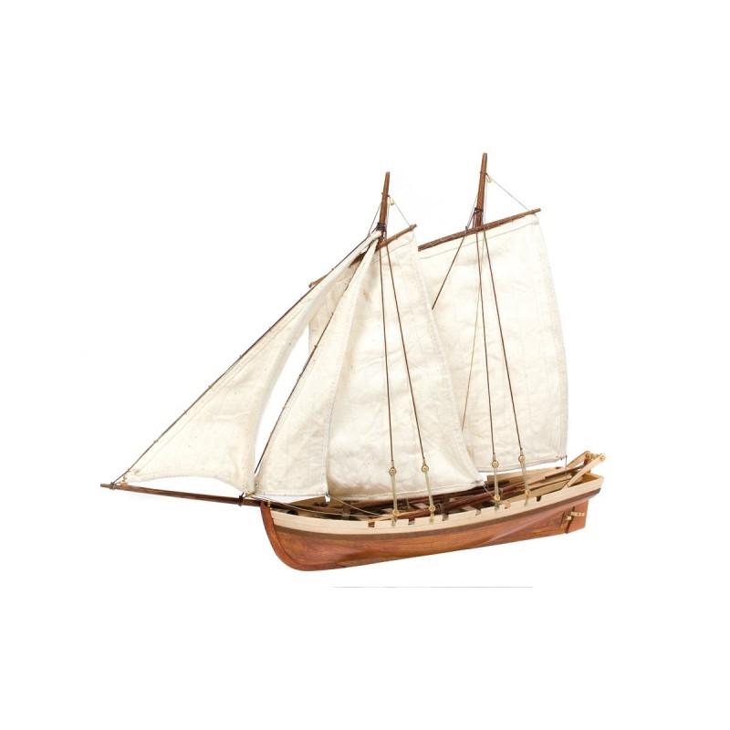 Canot de sauvetage du Bounty, maquette Occre