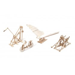 OCCRE Léonard de Vinci, maquettes médiévales en bois, Occre Maquettes en bois
