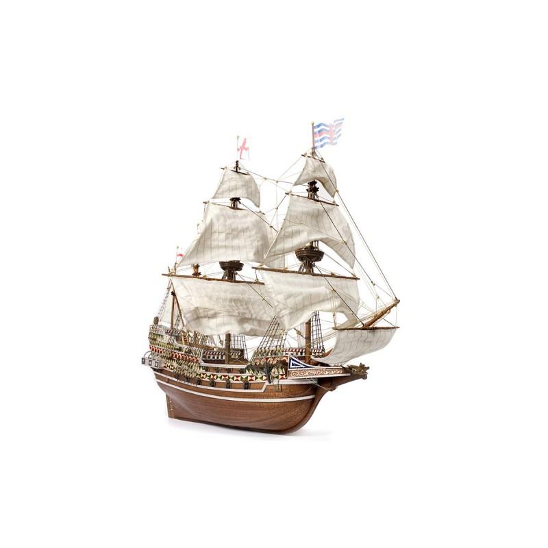 Voici une magnifique réplique d'un Galion anglais, le HMS Revenge, Occre 13004 EAN 8436032424330