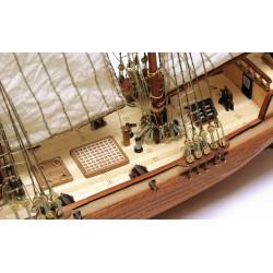 Goélette Albatros,échelle 1/100, modélisme naval, OcCre 12500, EAN 8436032420011