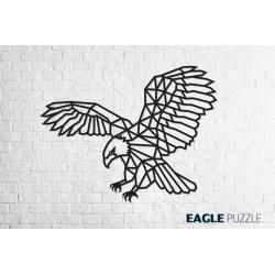 Eco Wood Art Décoration murale DIY, l'Aigle Puzzles 3d en bois