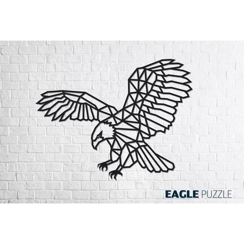 Décoration murale DIY, l'Aigle