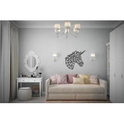 Eco Wood Art Licorne , Décoration Murale, DIY, Puzzle 3d Puzzles 3d en bois