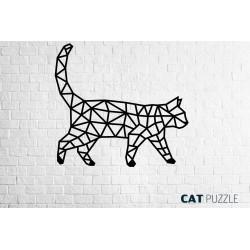 Eco Wood Art Le Chat, Décoration murale, DIY, puzzle 3d Puzzles 3d en bois