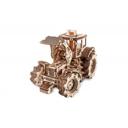 Eco Wood Art Maquette de tracteur en bois, 357 pièces. Puzzles 3d en bois