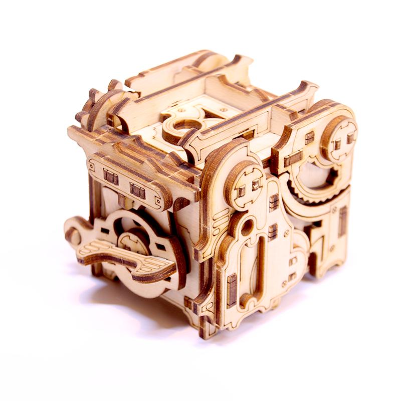 Puzzle Box, la Minipunk, NKD Puzzles, DIY, puzzle 3d à énigme. 3770013843006