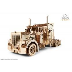 UGEARS Pack Heavy Boy et sa remorque, ugears Camions et bus