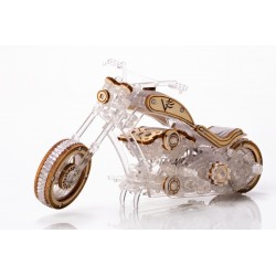 Veter Models Maquette de moto, chopper, Veter Models Puzzles 3d en bois