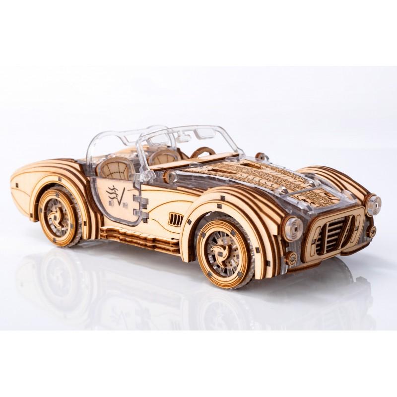 puzzle 3d mécanique, roadster, Veter Models
