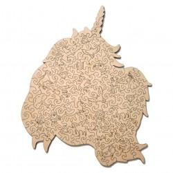 4820195191880 Puzzle de licorne. Puzzle en bois, woodtrick