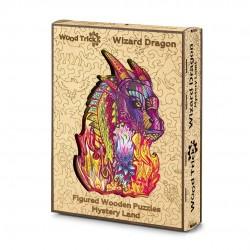 WOOD TRICK Puzzle en bois, le Dragon du Sorcier Puzzles en bois