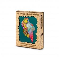 WOOD TRICK Puzzle en bois, le Perroquet Puzzles en bois