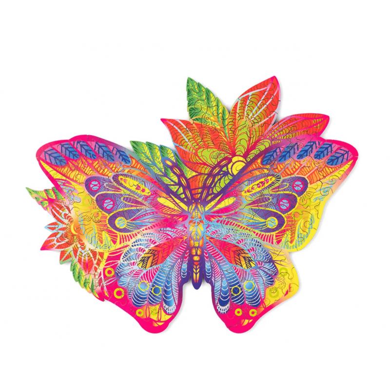 WOOD TRICK Puzzle bois, papillon Puzzles en bois