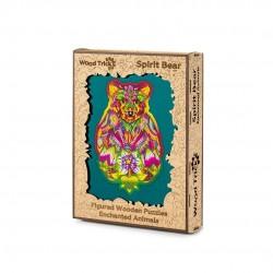 WOOD TRICK Puzzle en bois, l'Ours Puzzles en bois