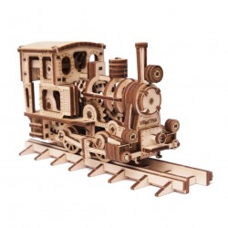 WOOD TRICK Maquette de locomotive mécanique Locomotives