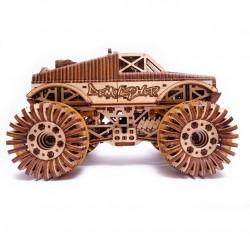 WOOD TRICK Maquette de Monster Truck Puzzles 3d en bois