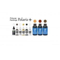 OCCRE Pack de teinture et peinture pour le navire Polaris de Occre Colles, teintures, peintures
