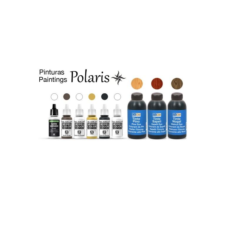 Pack de teinture et peinture pour le navore Polaris de Occre