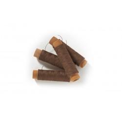 OCCRE Fil de coton brun, 0,15 mm Accastillages