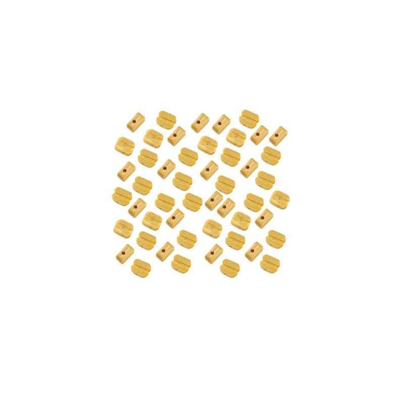 Poulies de 4 mm 1 trou, accastillage Occre