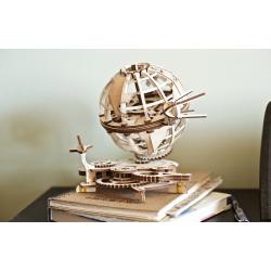 UGEARS Globus Ugears – Puzzle 3d en bois Espace , géographie, science