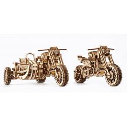 UGEARS Maquette en bois Moto Scrambler, Ugears France Motos