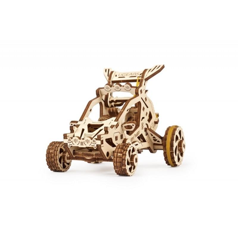 Mini Buggy Ugears, votre 1er puzzle 3d