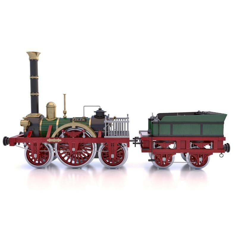maquette de locomotive , Modèle Adler, Occre