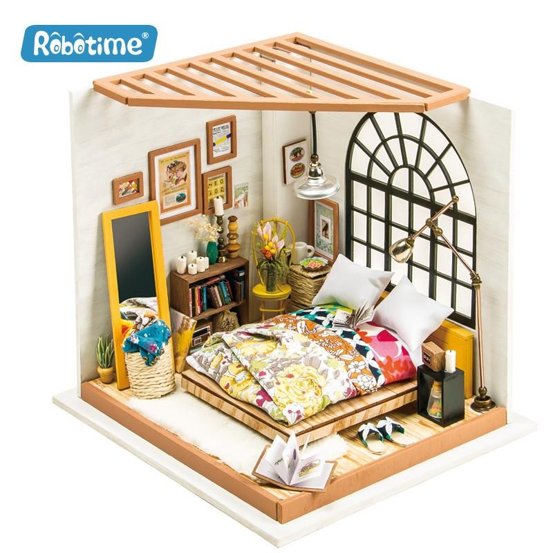 Robotime La chambre d'Alice, Diorama Accueil