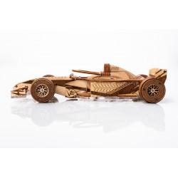 Veter Models Maquette voiture de course, Racer V3, Veter Models Puzzles 3d en bois