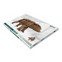 Organisateur de Bureau, Ours Brun, en bois, eco wood art 4815123000990