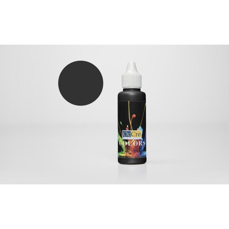 OCCRE Peinture acrylique, noir,  pour maquettes, loisirs créatif. OUTILLAGE ET ACCESSOIRES