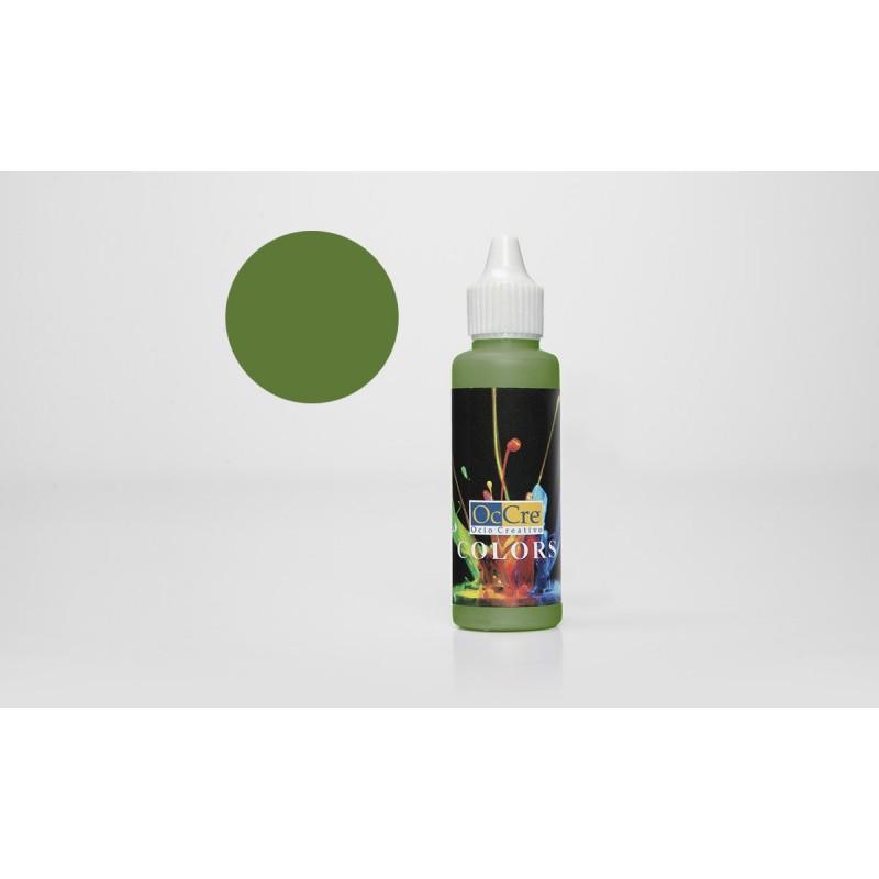OCCRE Peinture acrylique, vert clair,  pour maquettes, loisirs créatif OUTILLAGE ET ACCESSOIRES