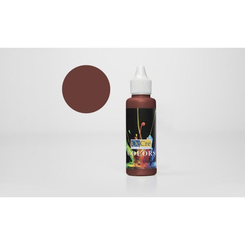 OCCRE Peinture acrylique, brun rougeâtre, pour maquettes, loisirs créatif OUTILLAGE ET ACCESSOIRES