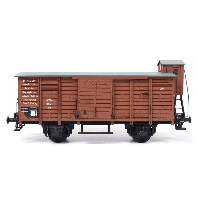 Wagon en bois, modélisme ferroviaire, Occre